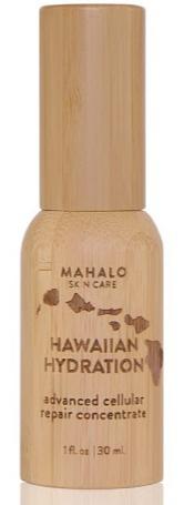 MAHALO Skin Care Hawaiian Hydration Advanced Cellular Repair Concentrate