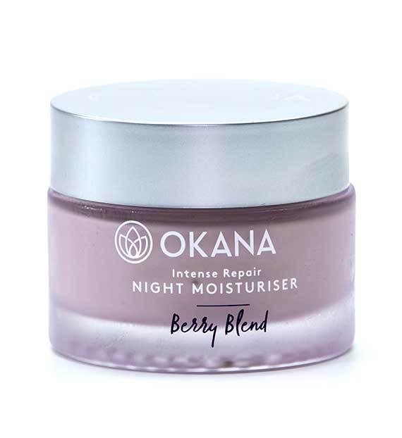 okana Natural Night Moisturiser - Natural Berry