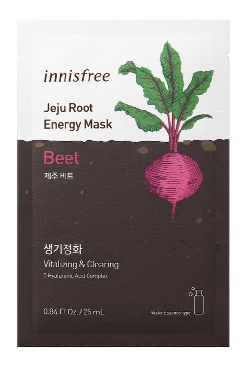 innisfree Jeju Root Energy Mask [Beet]