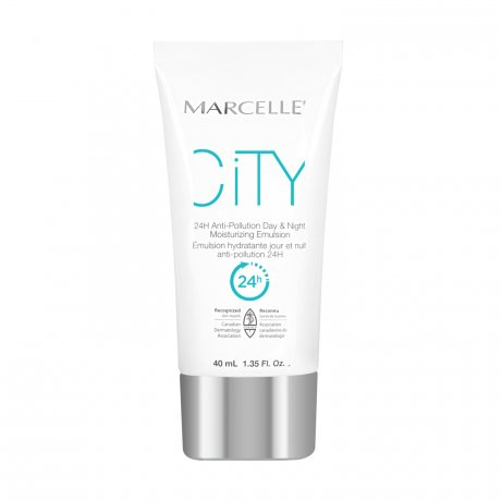 Marcelle City 24H Anti-Pollution Day & Night Moisturizing Emulsion