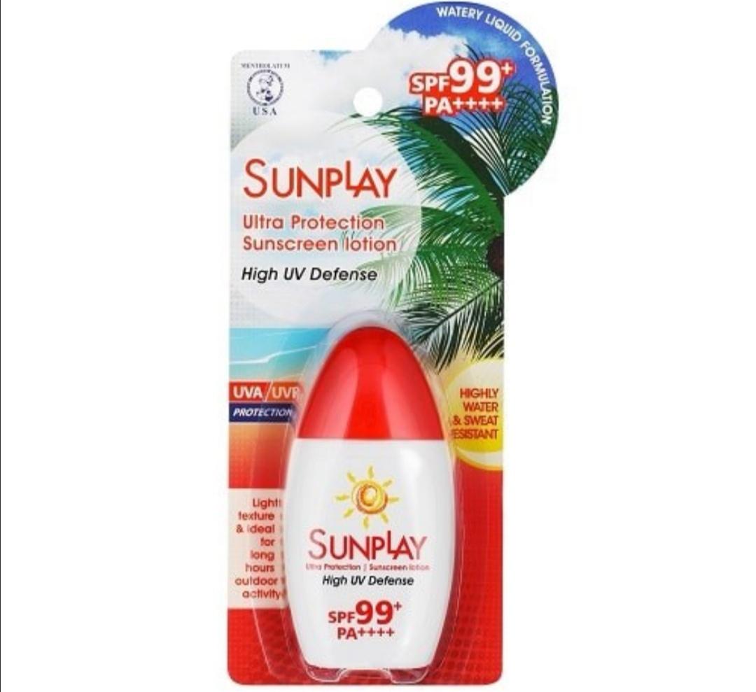 Rohto Mentholatum Sunplay Ultra Protection Sunscreen Lotion Spf 99 PA++++