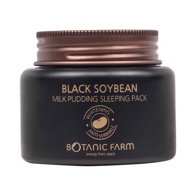 Botanic Farm Black Soybean Milk Pudding Sleeping Pack