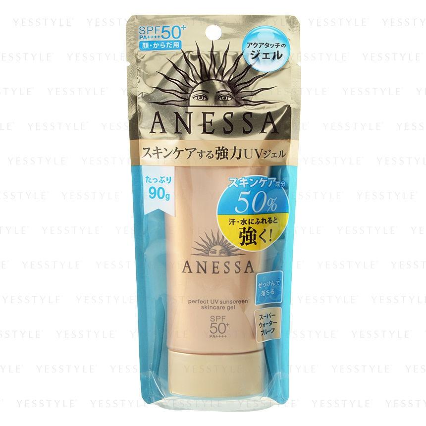 Anessa Perfect Uv Sunscreen Skincare Gel Spf 50+ Pa++++