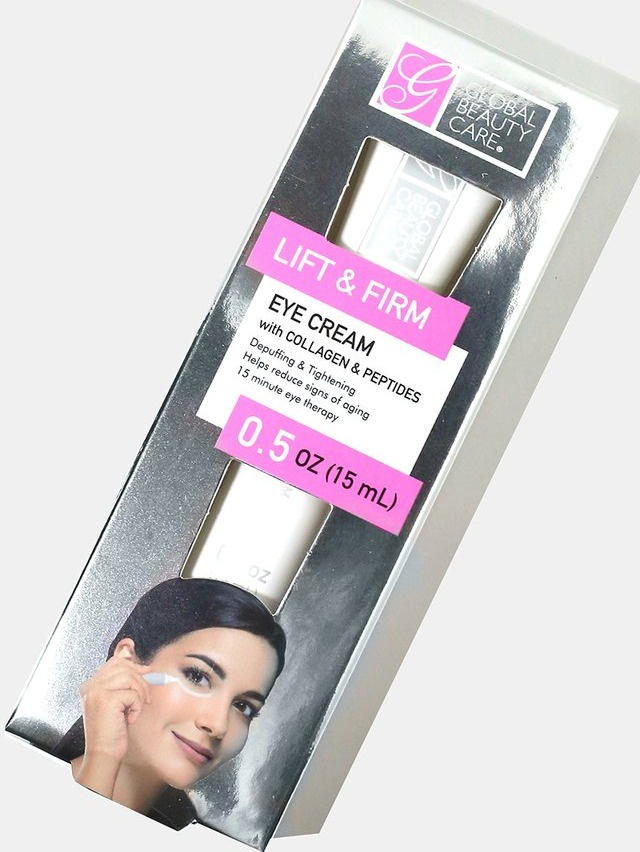 Global Beauty Care Lift & Firm Eye Cream