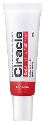 Ciracle Red Spot Cica Sulfur Gel