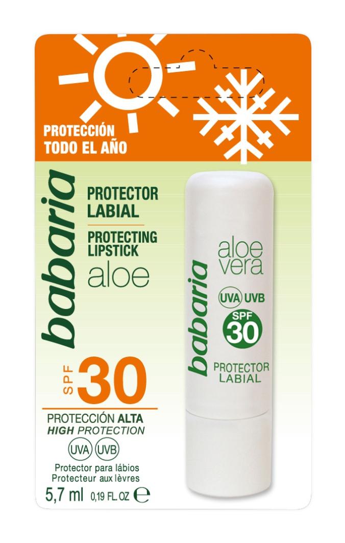Babaria Protector Labial Aloe Vera Spf 30