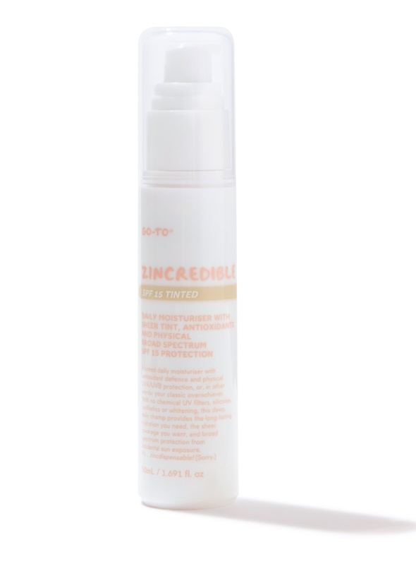Go-To Zincredible Spf15 Tinted