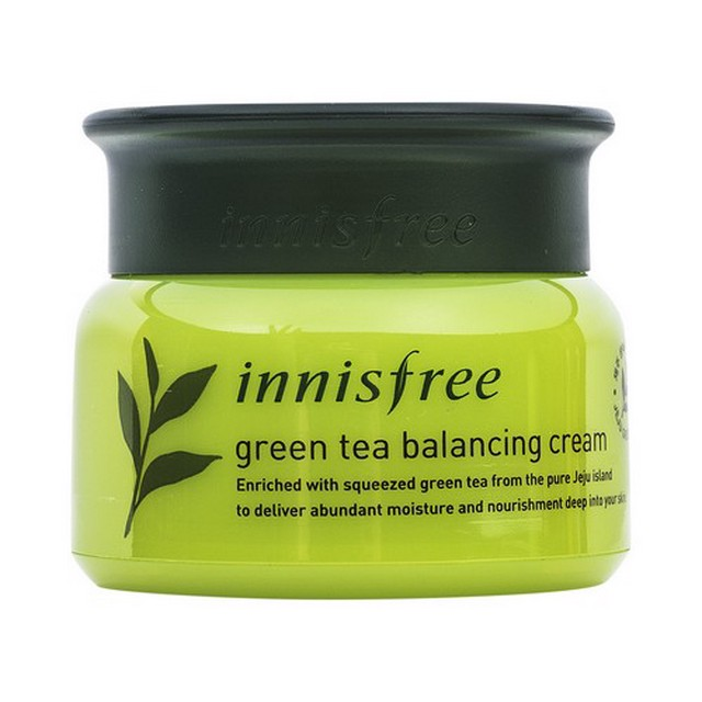innisfree Balancing Cream With Green Tea
