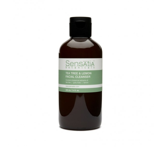 sensatia botanicals Tea Tree & Lemon Facial Cleanser