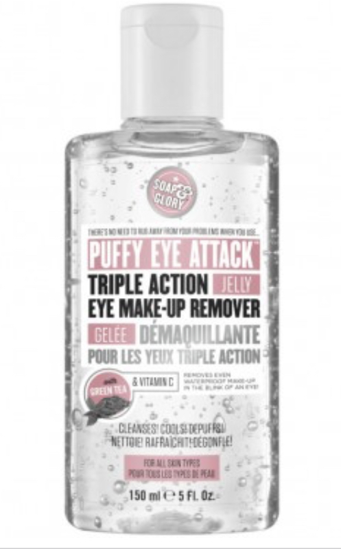 Soap & Glory Puffy Eye Attack™ Triple Action Jelly Eye Makeup Remover