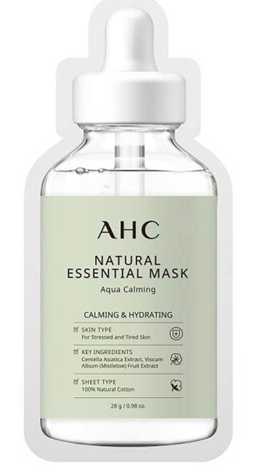 AHC Natural Essential Face Mask Aqua Calming