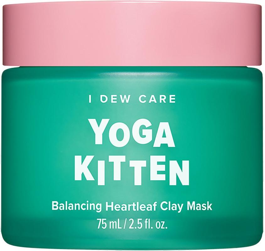 I Dew Care Yoga Kitten Balancing Heartleaf Clay Mask