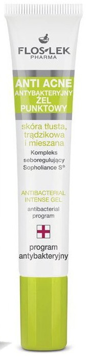 Floslek Antibacterial Intense Gel