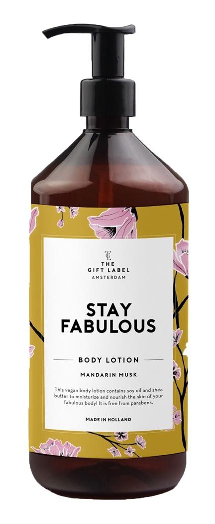 The Gift Label Vegan Body Lotion Mandarin Musk-Stay Fabulous