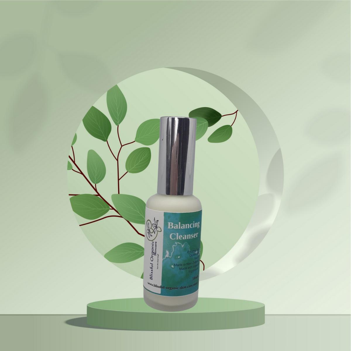 Blissful Organic Skincare Balancing Cleansing Lotion