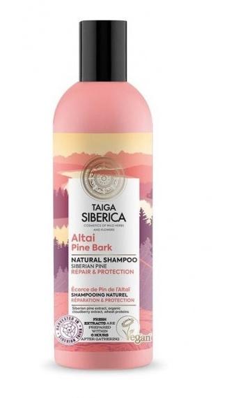 Taiga Siberica Shampoo Natural Reparacion Y Proteccion