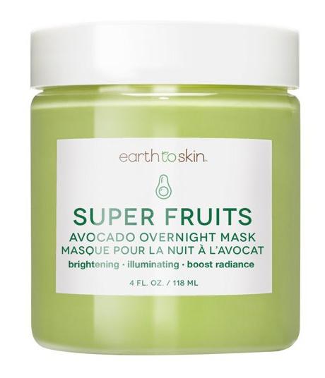 Earth To Skin Super Fruits Avocado Overnight Mask
