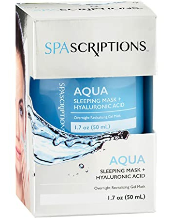 Global Beauty Care Aqua  Sleeping Mask +Hyaluronic Acid