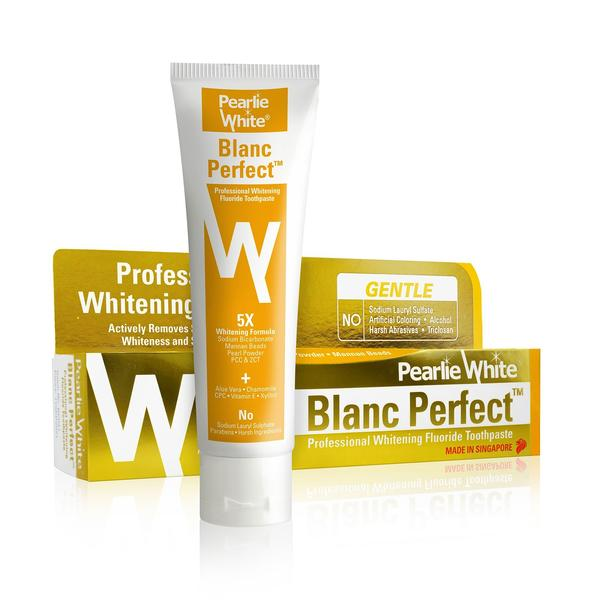 Pearlie White Blanc Perfect Professional Whitening Fluoride Toothpaste