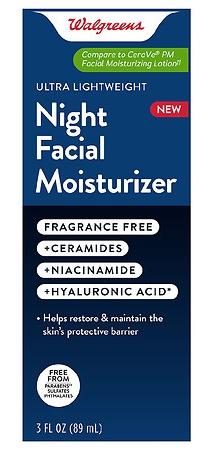 Walgreens Night Facial Moisturizer