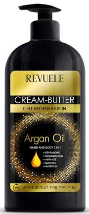 Revuele Body And Hand Cream-Butter Argan Oil