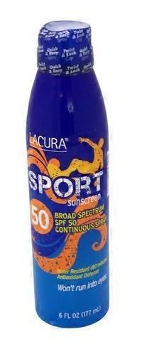 LACURA Sport Sunscreen Broad Spectrum SPF 50 Lotion