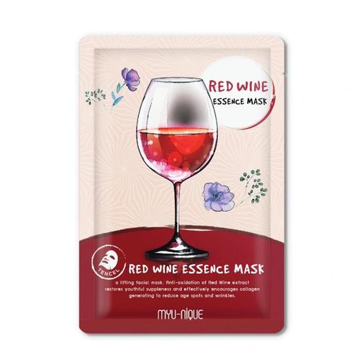 MYU-NIQUE Red Wine Essence Mask