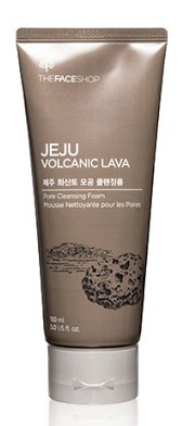 The Face Shop Jeju Volcanic Lava Pore Cleansing Foam