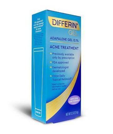 Differin Adapalene Gel 0.1% Acne Treatment