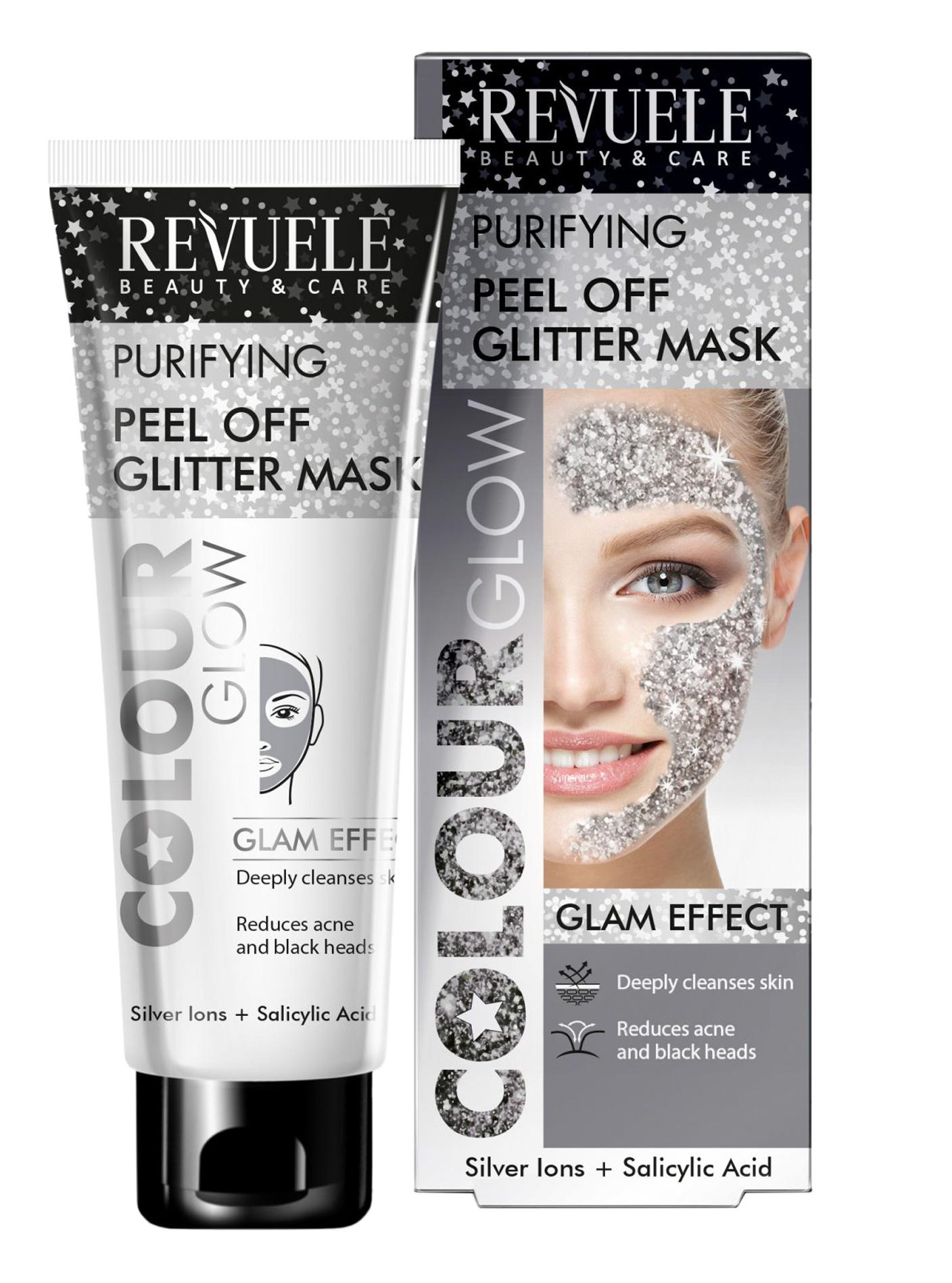 Revuele Purifying Peel Off Glitter Mask