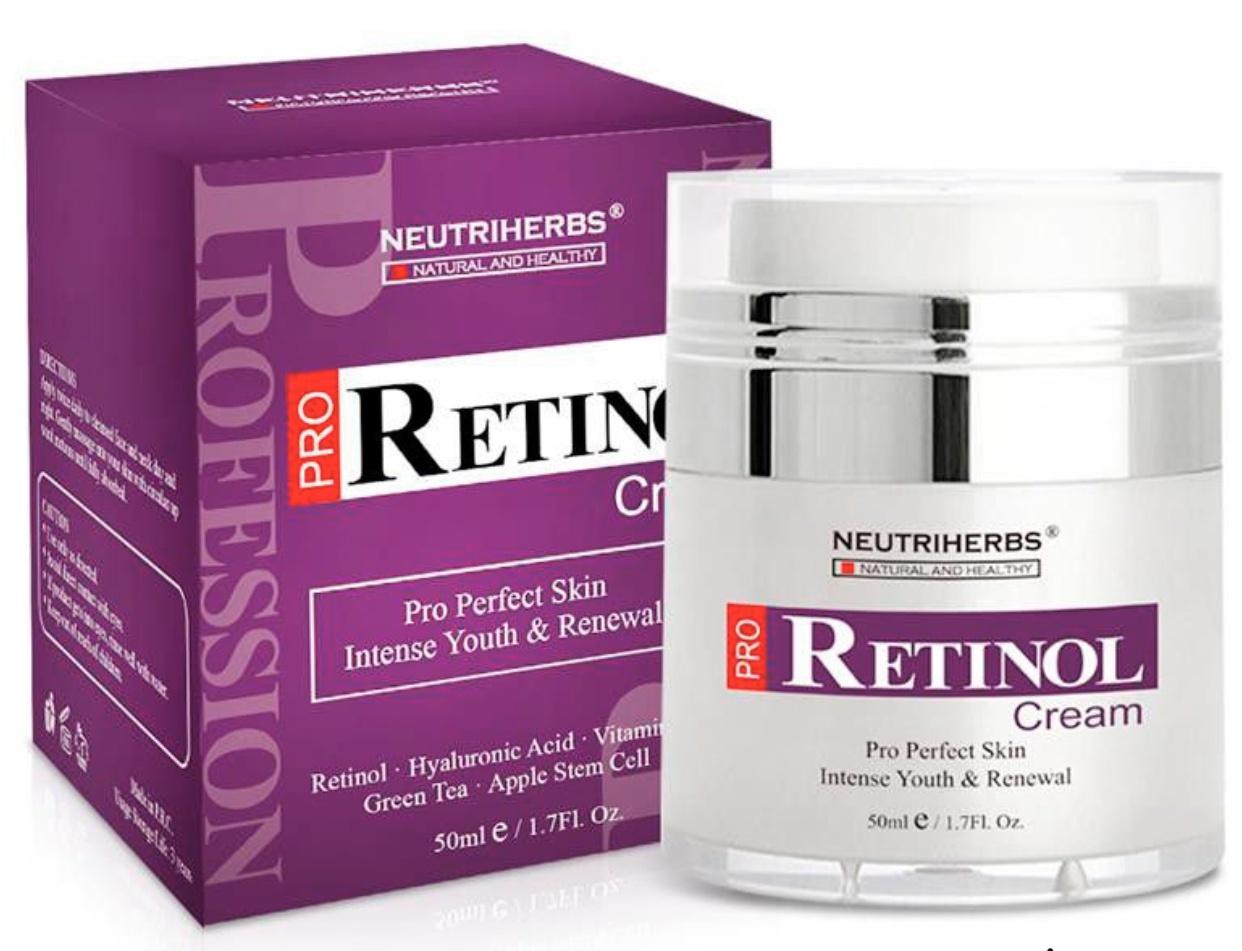 Neutriherbs Retinol Cream For Wrinkles & Acne -