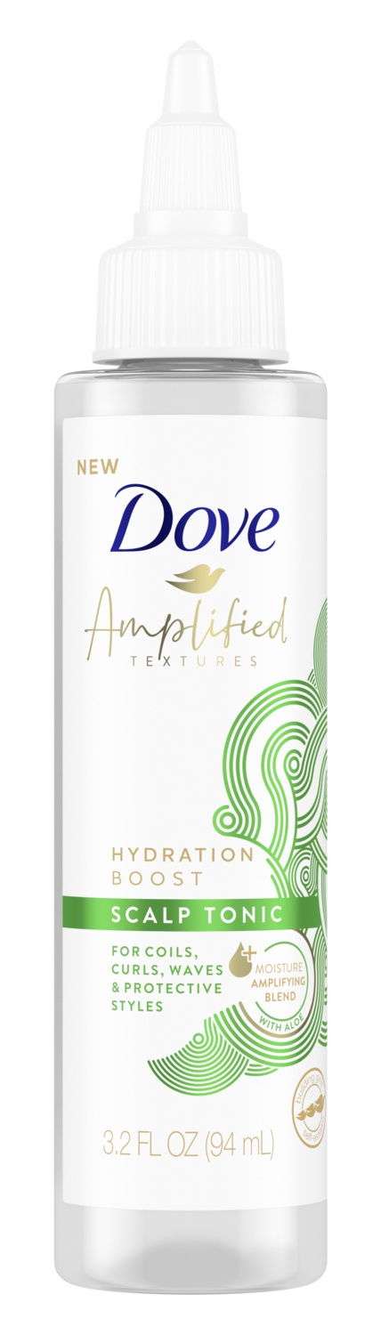 Dove Amplified Textures Hydration Boost Scalp Tonic