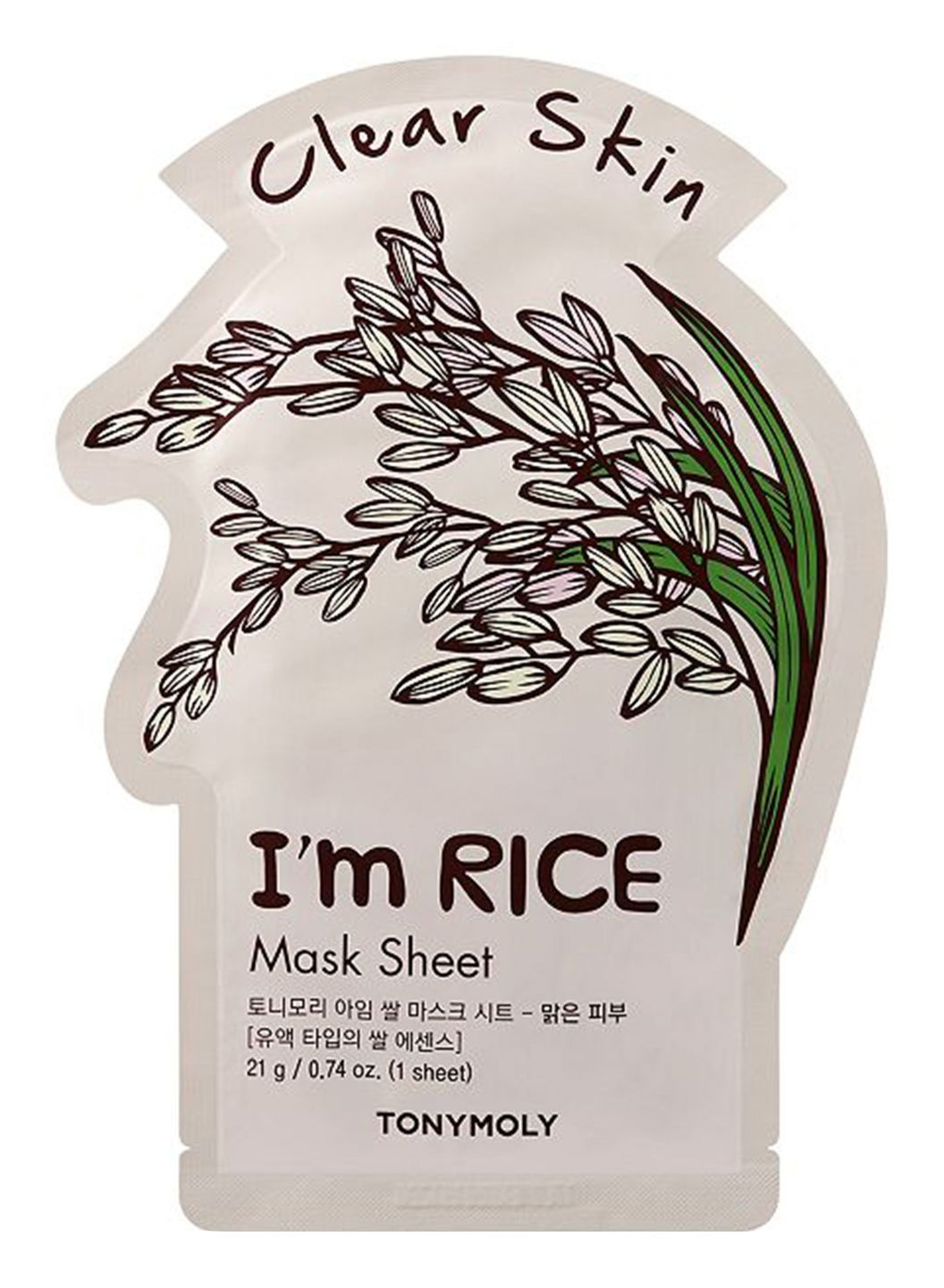 TonyMoly I'M Real Rice Mask Sheet