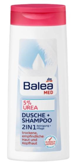Balea Med Duschgel 5% Urea 2In1 Dusche + Shampoo