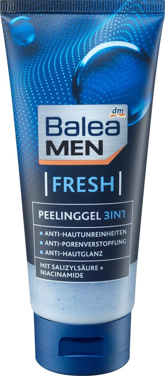 Balea MEN  Fresh Peeling Gel 3in1