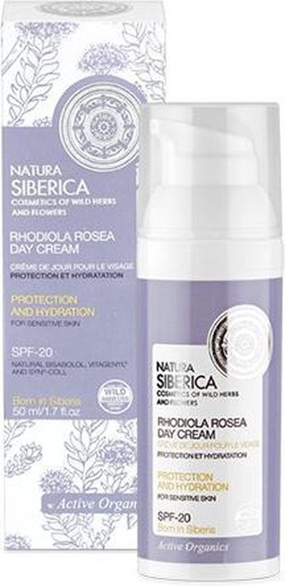 Natura Siberica Rhodiola Rosea Day Cream Cream On Day Rosary Mountain