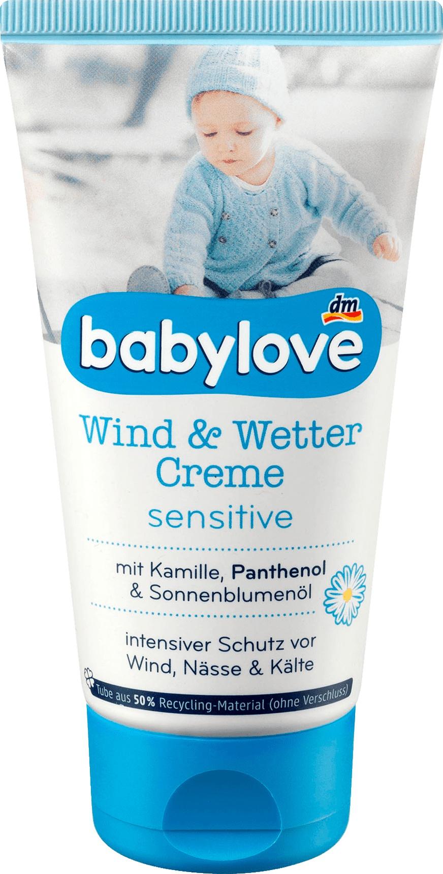 Babylove Wind Und Wetter Creme