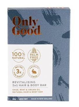Only Good Revitalising Hair & Body Bar