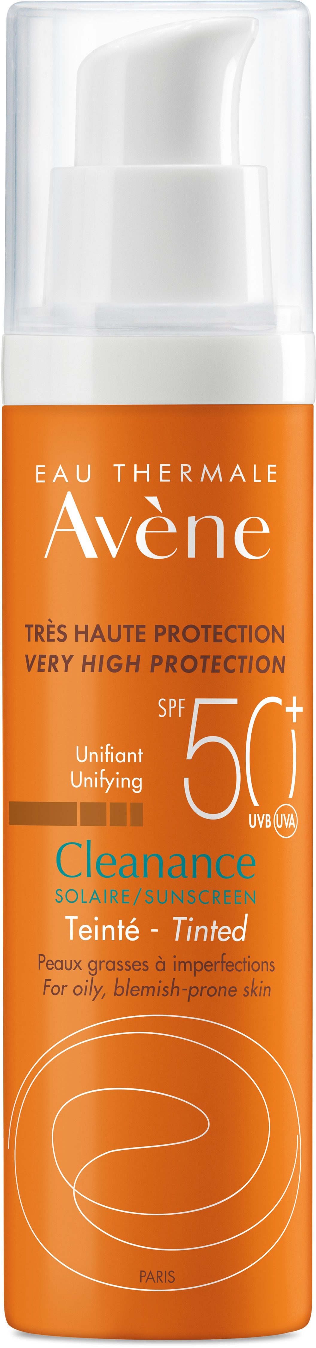 Avene Eau Thermale Avène Cleanance Tinted Spf 50