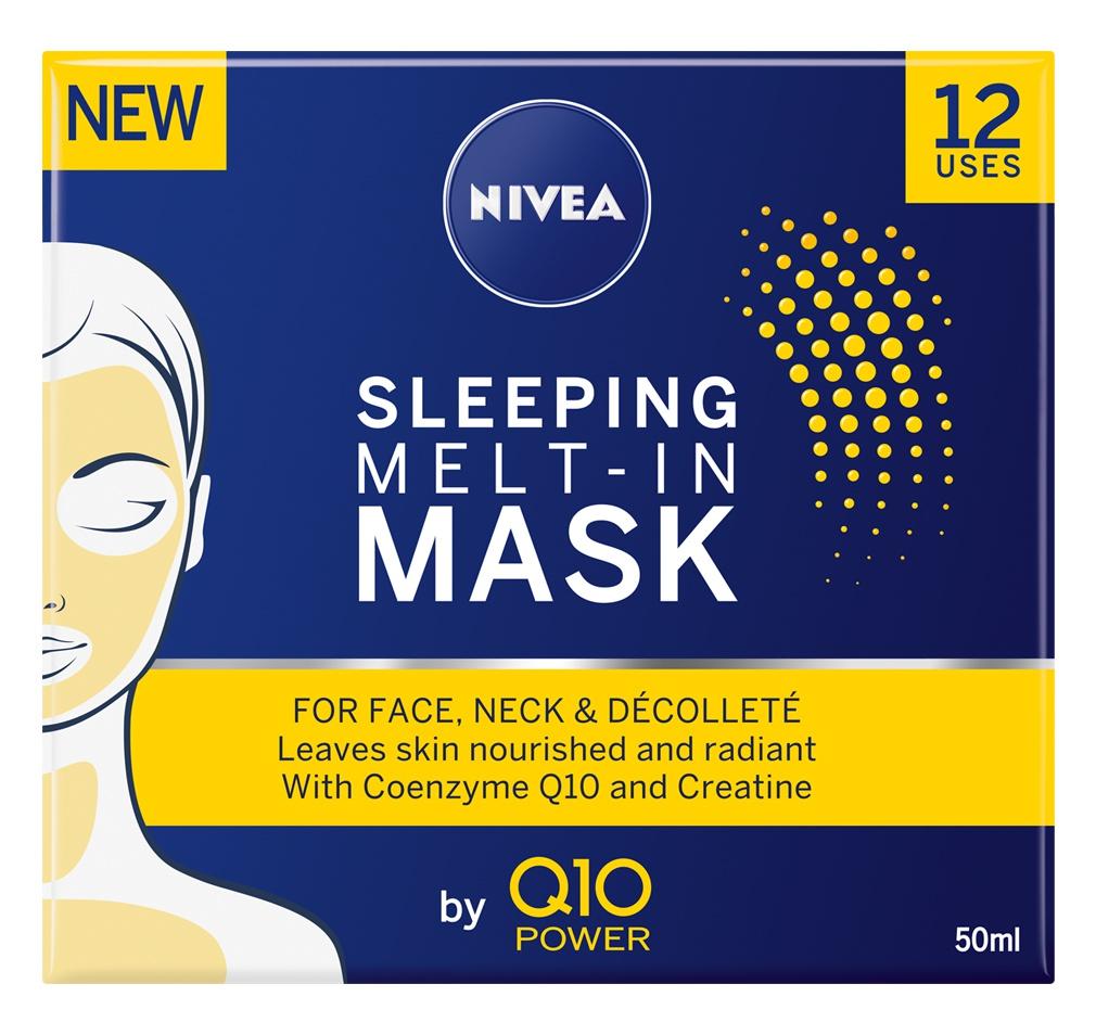 Nivea Q10 Plus Power Sleeping Melt-In Face Mask Anti Age