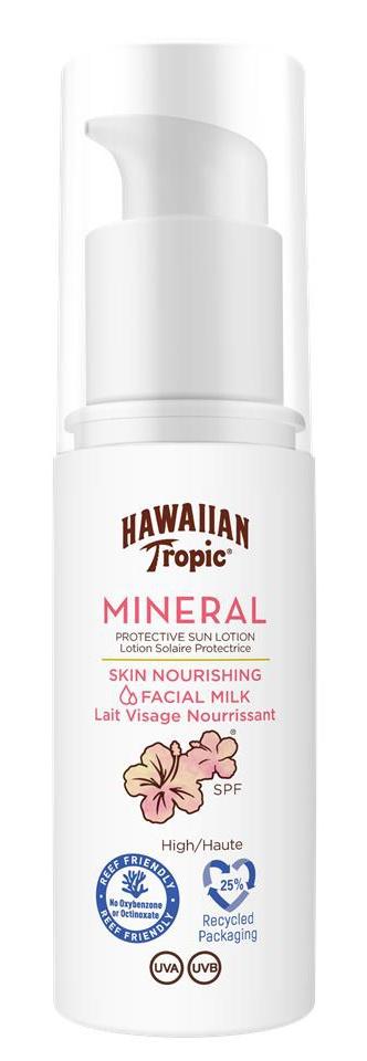 Hawaiian Tropic Mineral Sun Milk Face SPF30
