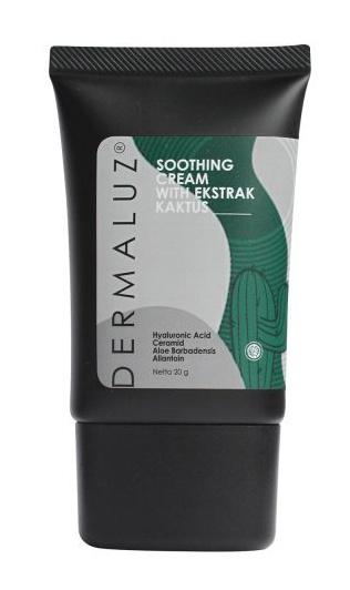 Dermaluz Soothing Cream With Ekstrak Kaktus