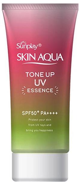 Sunplay Skin Aqua Tone Up UV Essence SPF50+ Pa++++ - Rose Aura