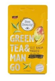 Bee Beauty Green Tea & Mango Skincare Mask