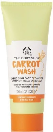 The Body Shop Carrot Wash Energising Face Cleanser