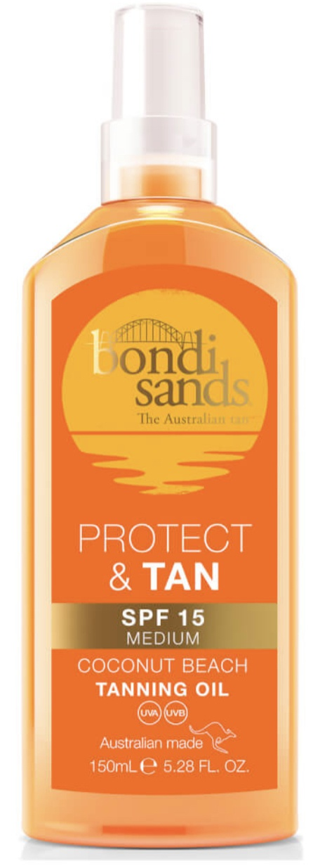 Bondi Sands Protect And Tan Spf15 Tanning Oil