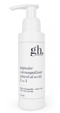 Gh Limpiador Y Desmaquillante Natural Al Aceite