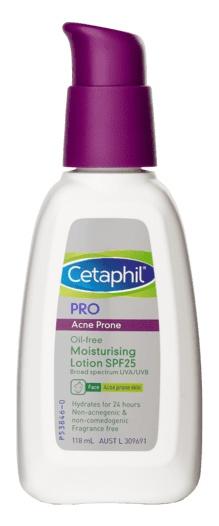 Cetaphil Pro Acne Prone Oil Free Facial Moisturising Lotion Ingredients Explained