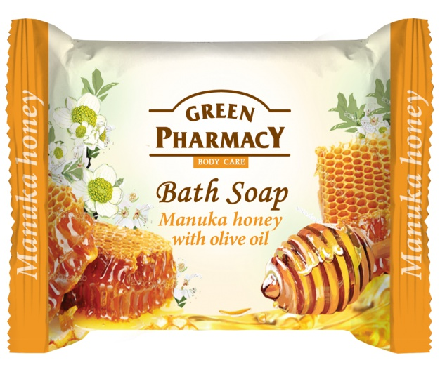 Green Pharmacy Bath Soap Bar Manuka Honey With Olive Oil