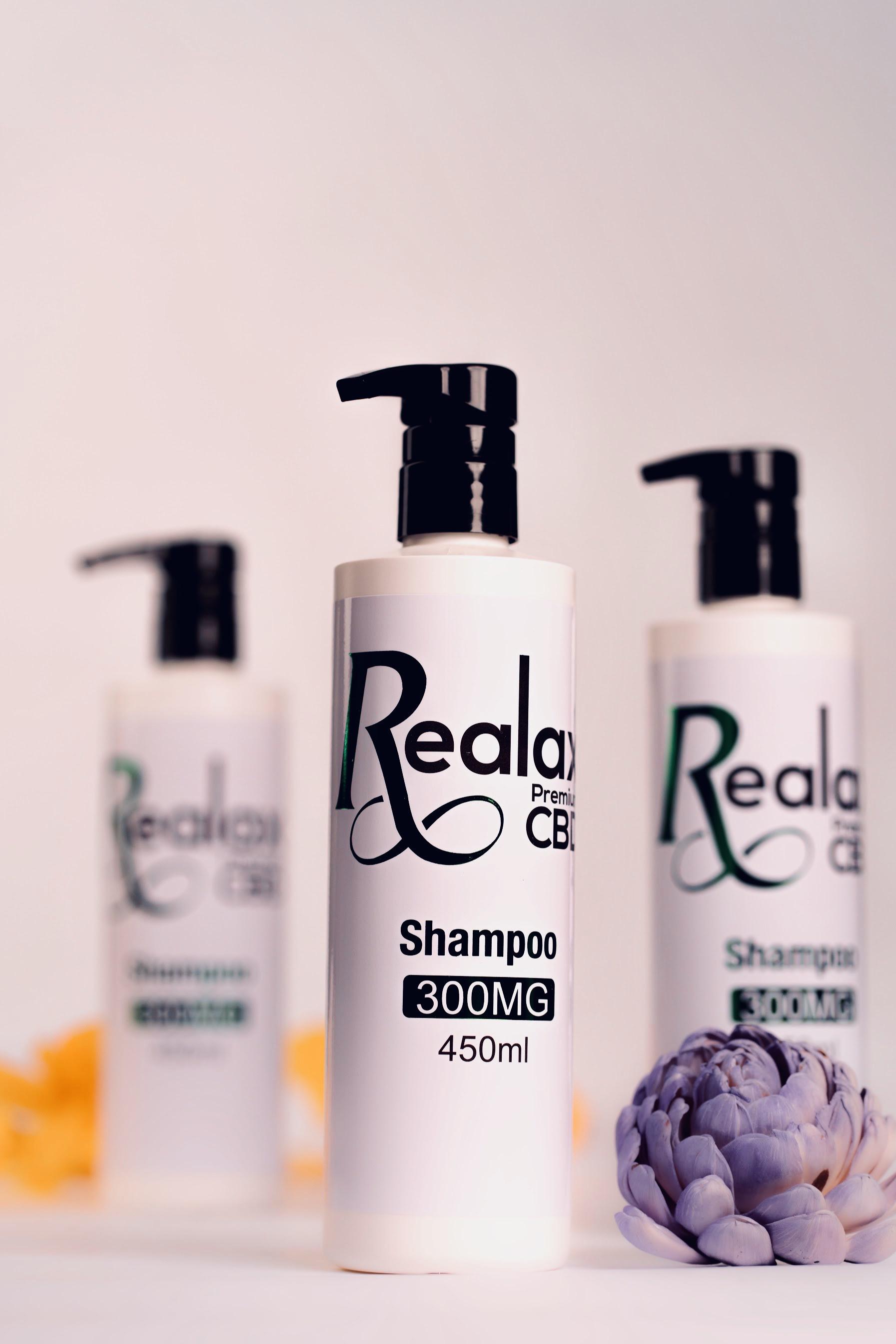 Realax CBD Hydrating Shampoo
